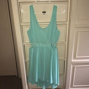 High-low pastel sundress